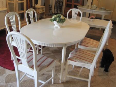 Hjælp søges til lakering af spisebord, og maling af stole?   bolig ...