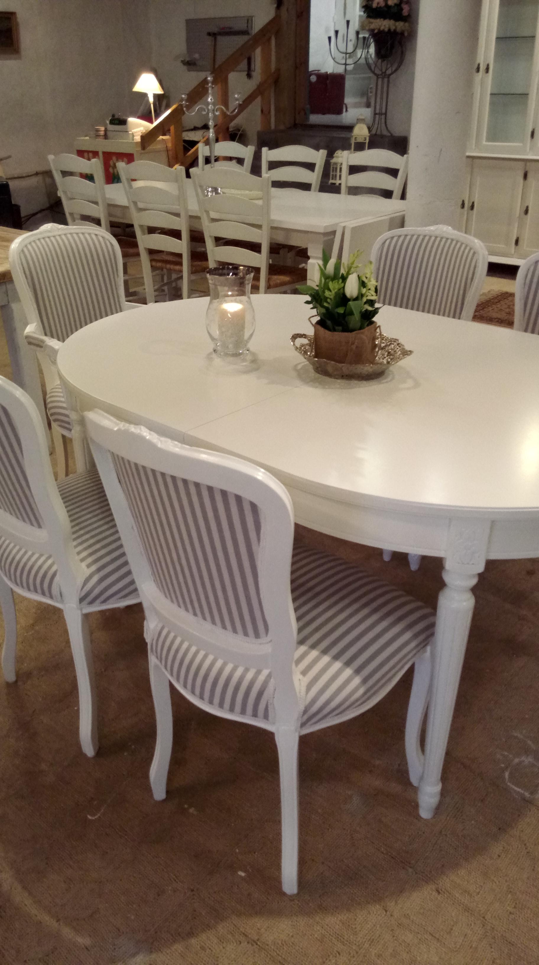 """spisebord ilva Lækkert spisebord, Ilva """"Brescia"""" med to plader og Lecce stole  spisebord ilva"""